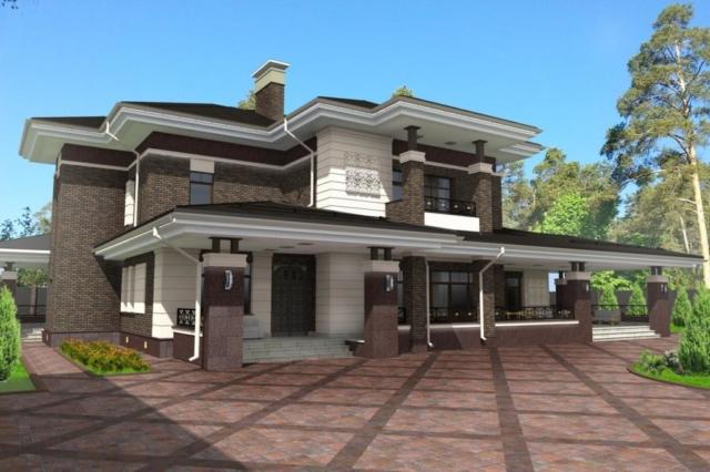 Индивидуальный жилой дом д. Коляново (рис 2)