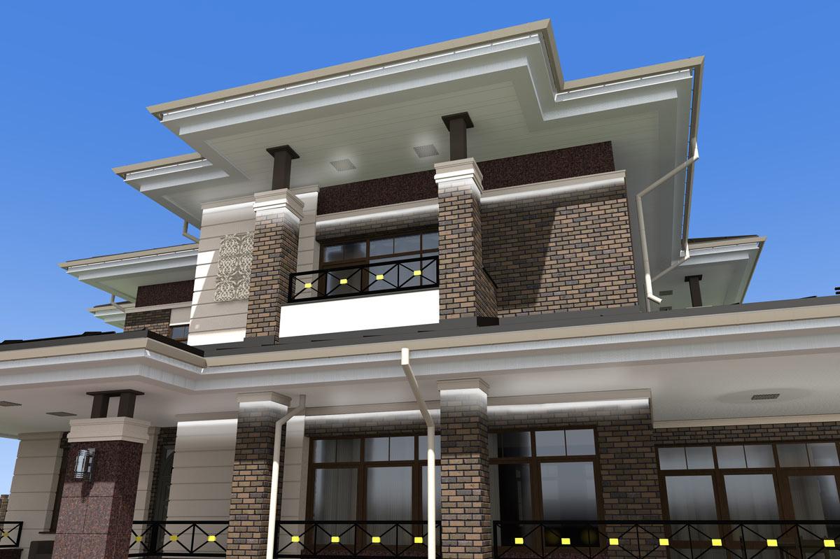 Индивидуальный жилой дом д. Коляново (рис 3)
