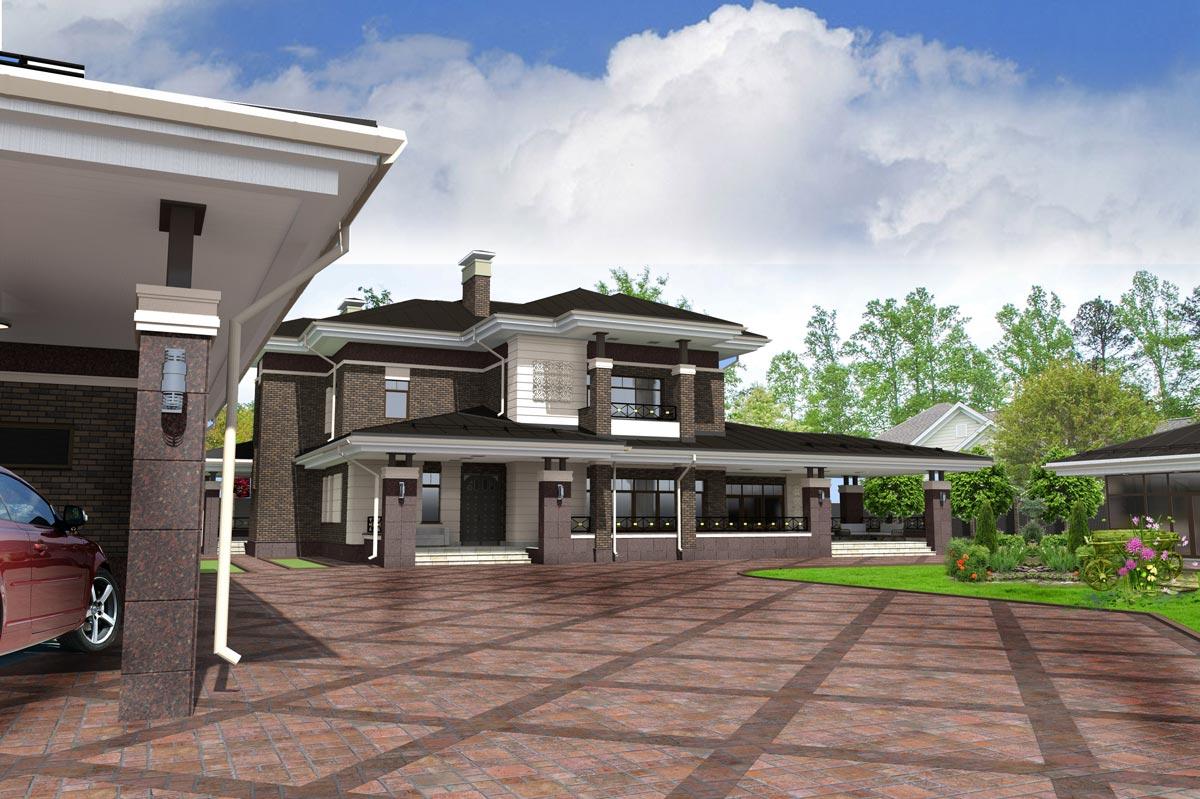 Индивидуальный жилой дом д. Коляново (рис 4)