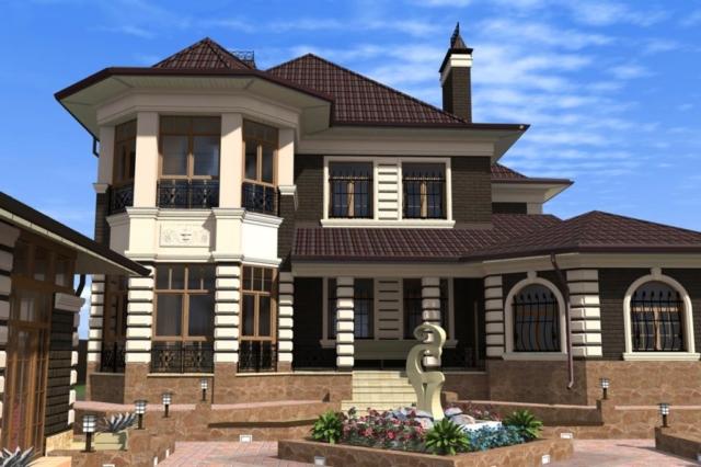 Индивидуальный жилой дом г. Кохма (рис 1)