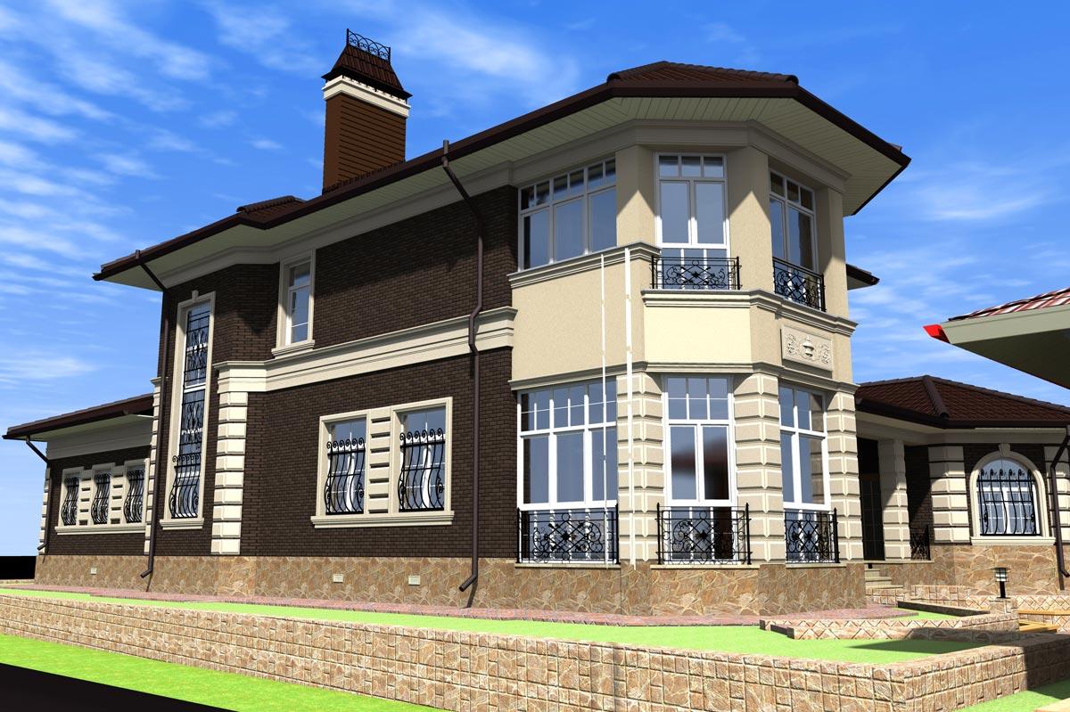 Индивидуальный жилой дом г. Кохма (рис 2)