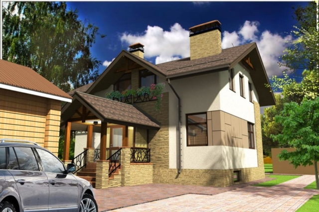 Индивидуальный жилой дом д. Афанасово (рис 1)