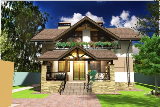 Индивидуальный жилой дом д. Афанасово (рис 2)