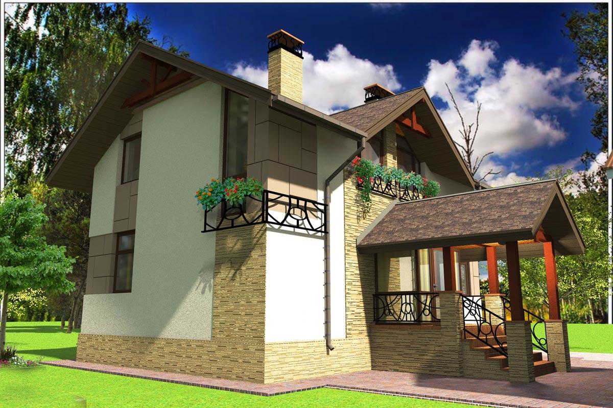 Индивидуальный жилой дом д. Афанасово (рис 3)
