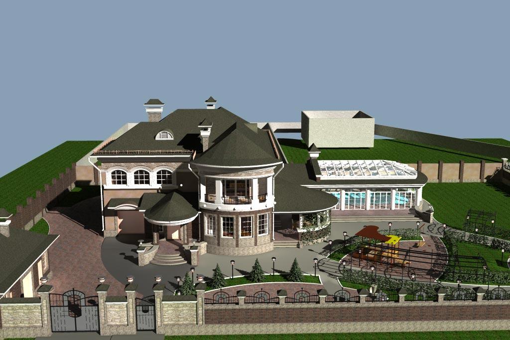 Индивидуальный жилой дом д. Афанасово (рис 5)