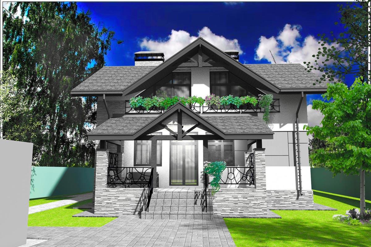 Индивидуальный жилой дом д. Афанасово