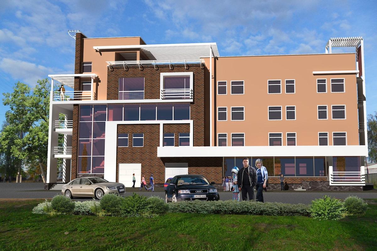 Административное здание г. Иваново Рис 2