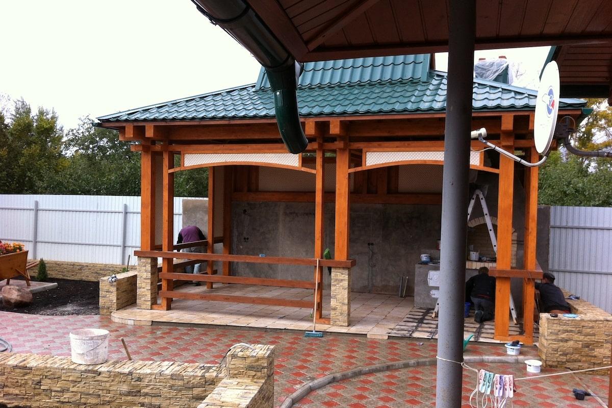 Благоустройство территории частного дома д Каменка Рис 6