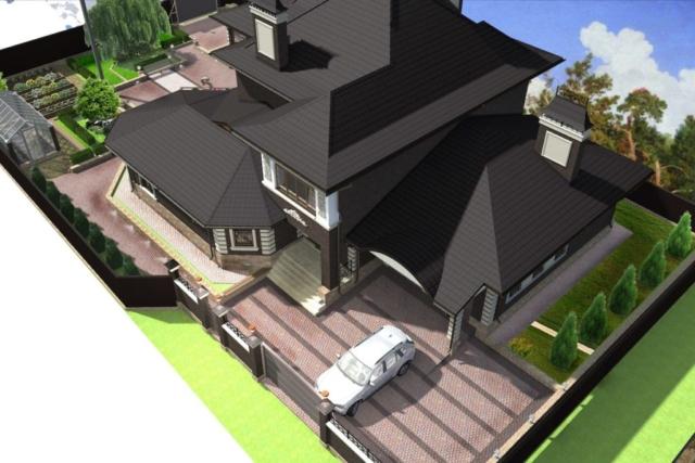 Благоустройство территории частного дома г Кохма Рис 5