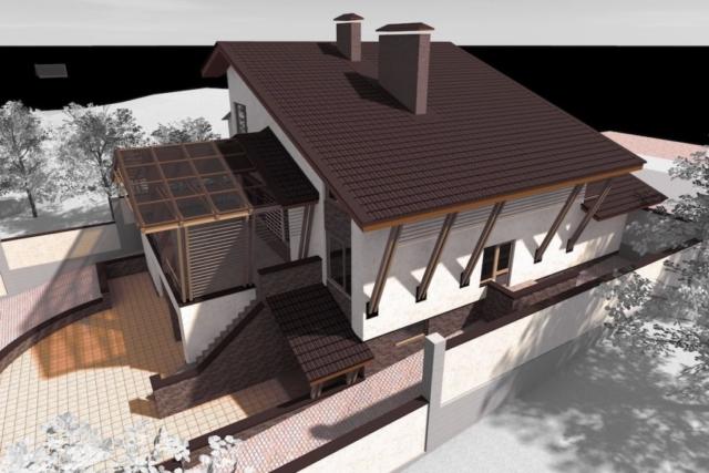 Дом на рельефе г. Иваново Рис 1