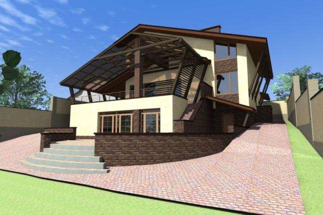 Дом на рельефе г. Иваново Рис 3