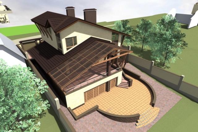 Дом на рельефе г. Иваново Рис 4