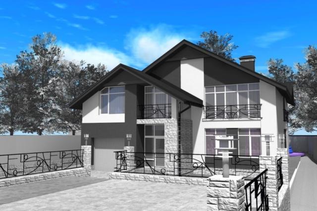 Индивидуальный жилой дом г. Иваново Рис 1