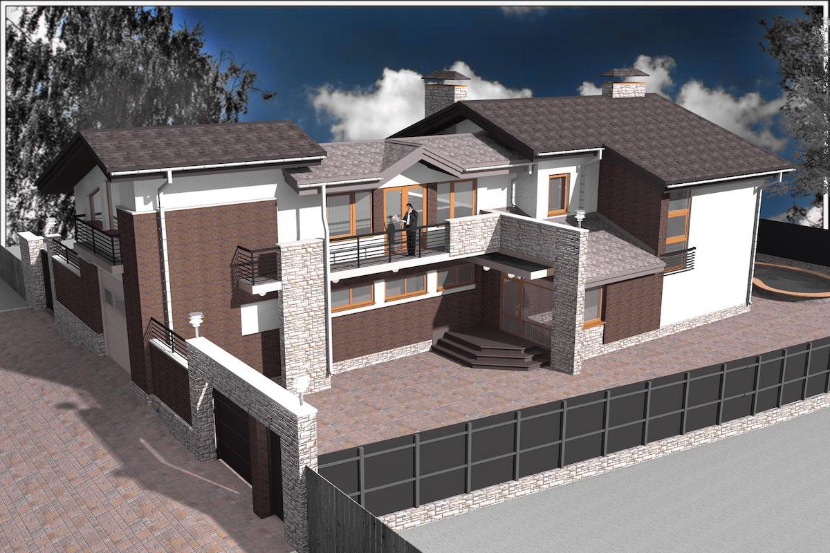 Индивидуальный жилой дом г. Иваново Рис 2