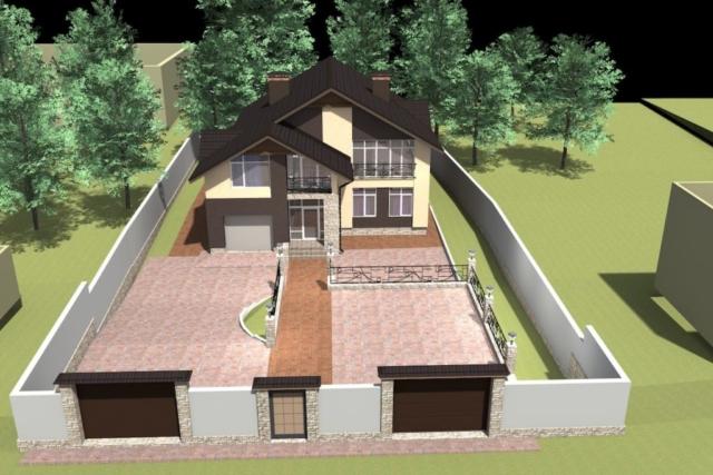 Индивидуальный жилой дом г. Иваново Рис 3