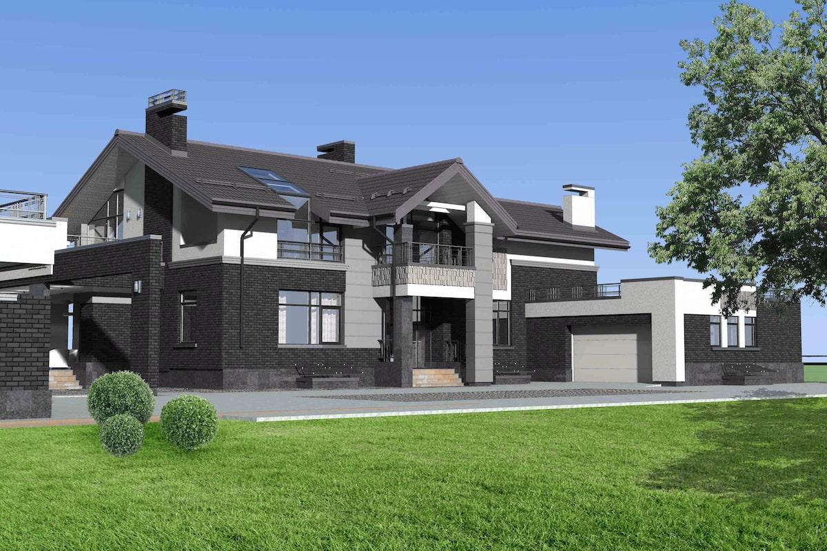Индивидуальный жилой дом в д. Крюково Рис 1