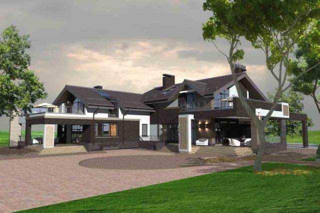 Индивидуальный жилой дом в д. Крюково Рис 3