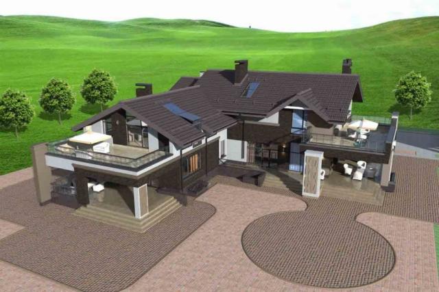 Индивидуальный жилой дом в д. Крюково Рис 4
