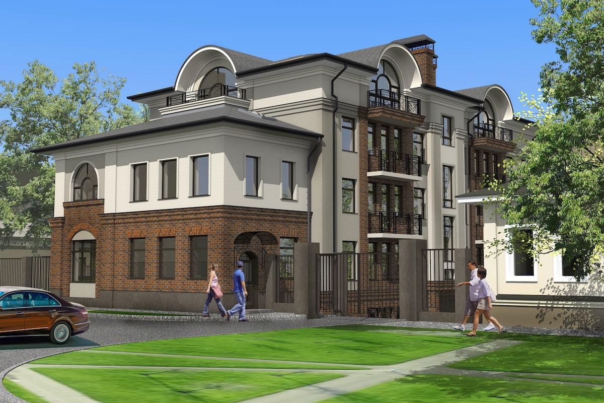 Клубный многоквартирный дом Рис 2