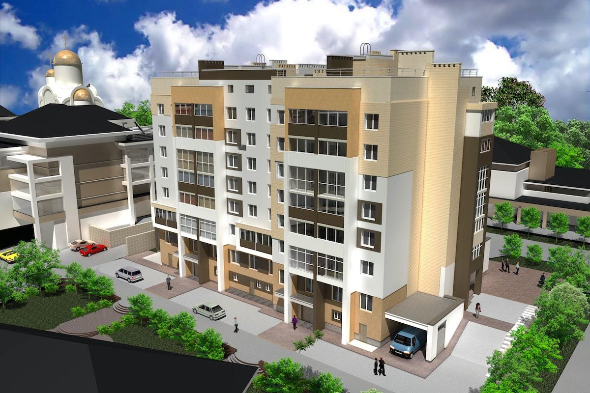 Многоквартирный жилой дом г. Кохма Рис 2