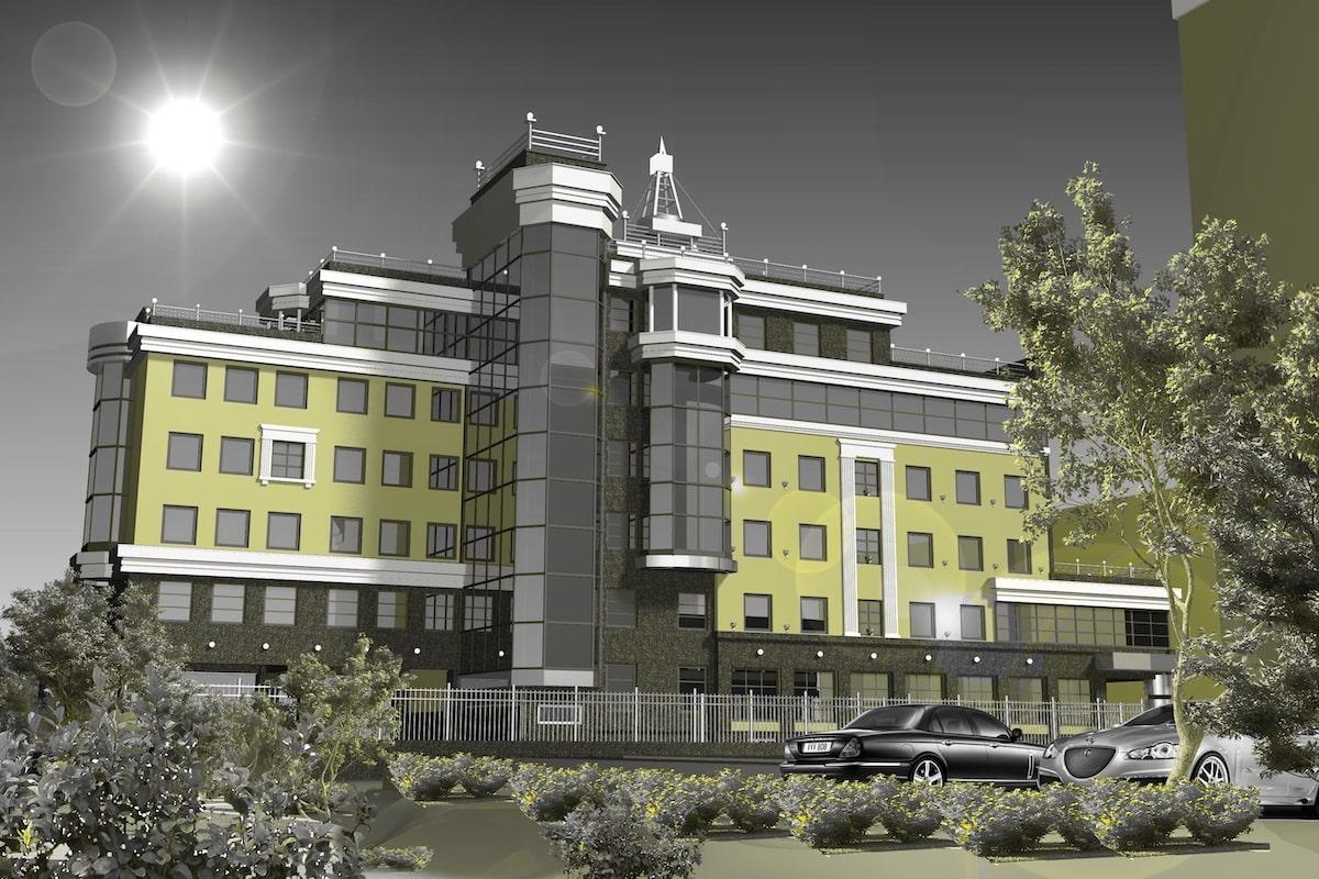 Офисное здание ул. Почтовая Рис 1