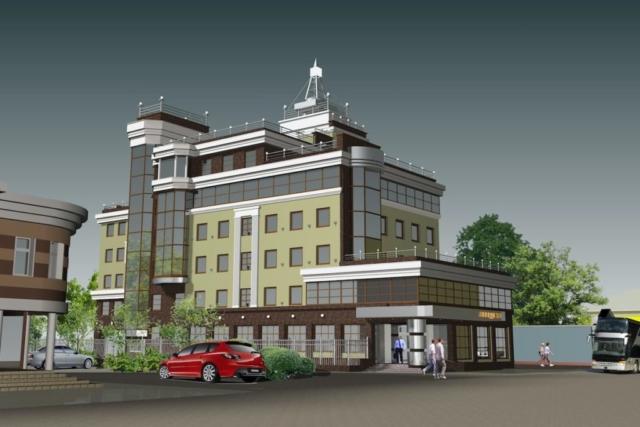 Офисное здание ул. Почтовая Рис 2