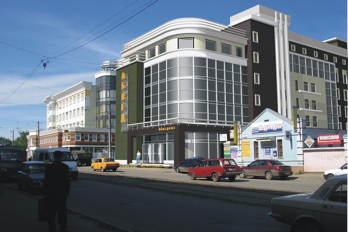 Офисное здание ул. Почтовая Рис 6