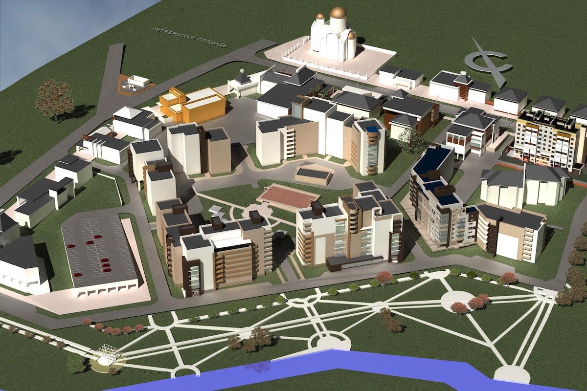 Проект планировки территории жилой застройки Рис 2
