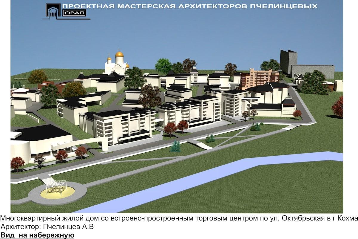 Проект планировки территории жилой застройки Рис 6