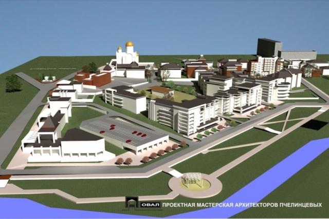 Проект планировки территории жилой застройки Рис 5