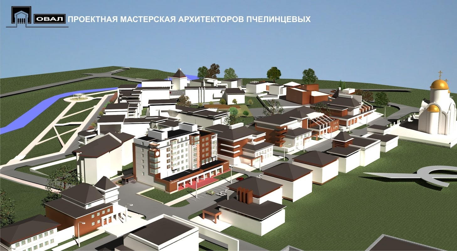 Проект планировки территории жилой застройки Рис 4