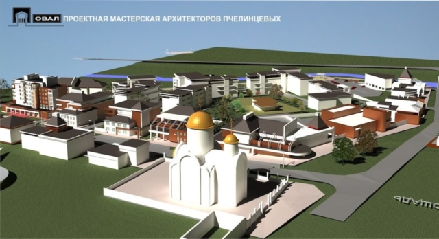 Проект планировки территории жилой застройки Рис 3
