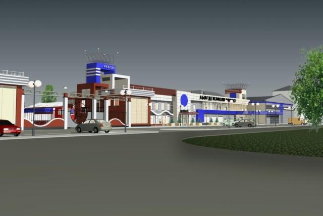 Реконструкция АТП под сельскохозяйственный рынок Рис 2