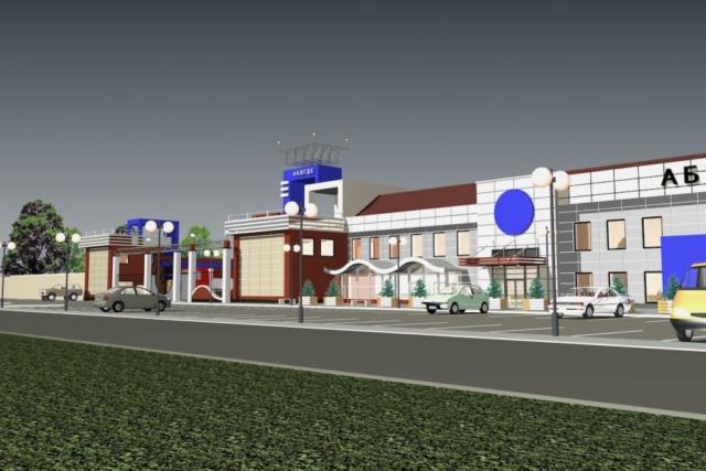 Реконструкция АТП под сельскохозяйственный рынок Рис 9
