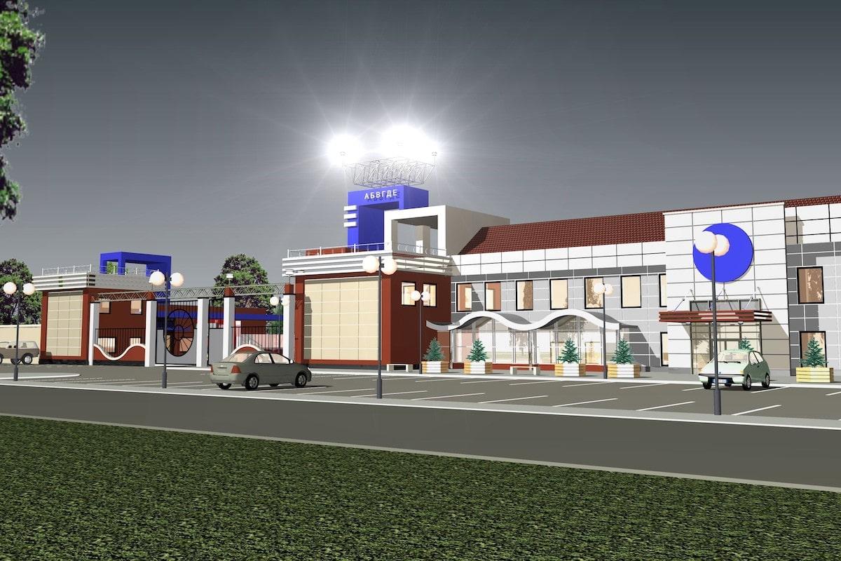 Реконструкция АТП под сельскохозяйственный рынок Рис 3
