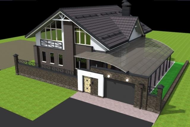 Реконструкция жилого дома с надстройкой второго этажа в г.Иваново Рис 4