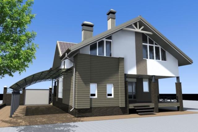 Реконструкция жилого дома с надстройкой второго этажа в г.Иваново Рис 5