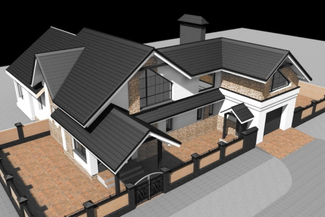 Реконструкция жилого дома с надстройкой второго этажа в г.Комсомольске Рис 1