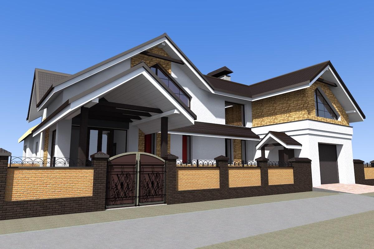 Реконструкция жилого дома с надстройкой второго этажа в г.Комсомольске Рис 2