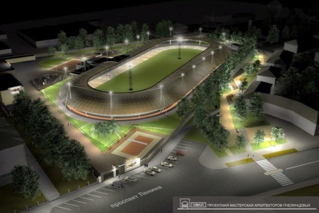 Стадион Спартак Рис 2