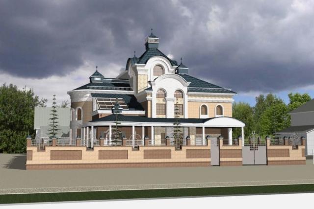 Жилой дом д. Игнатово Рис 1