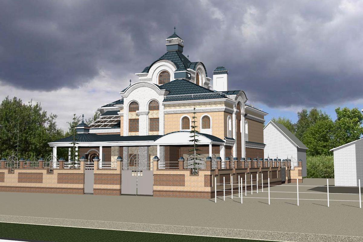 Жилой дом д. Игнатово Рис 2