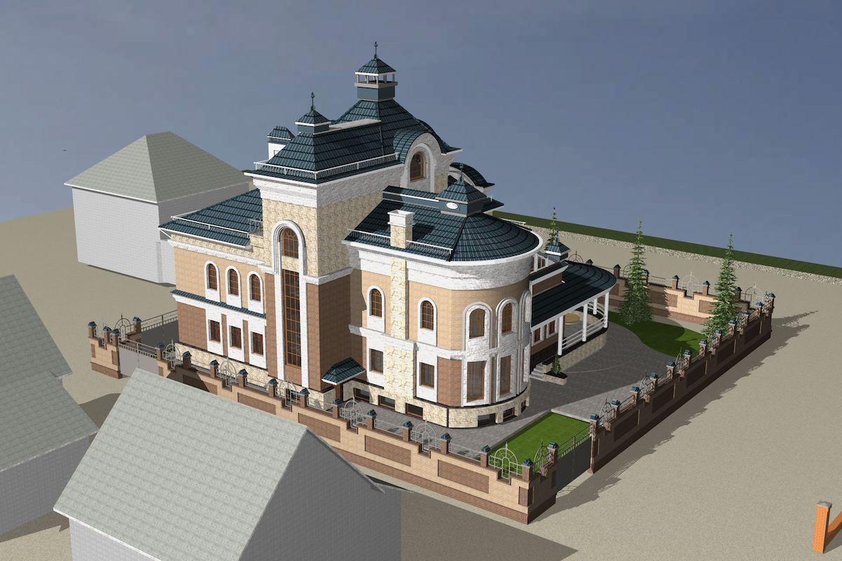 Жилой дом д. Игнатово Рис 3