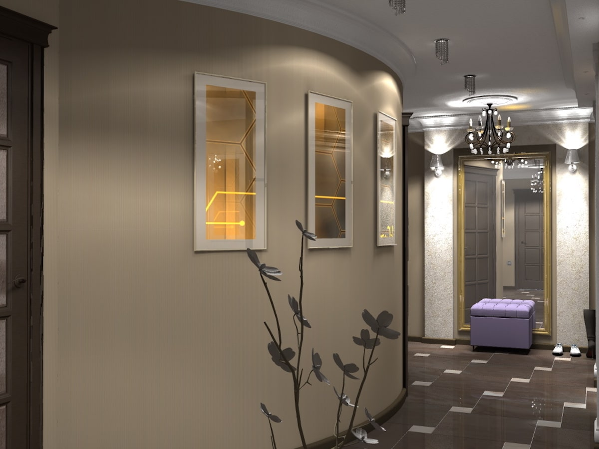Дизайн квартиры, прихожая, Рис 2