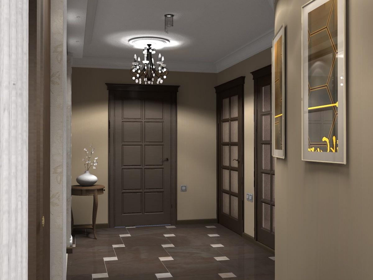 Дизайн квартиры, прихожая, Рис 3