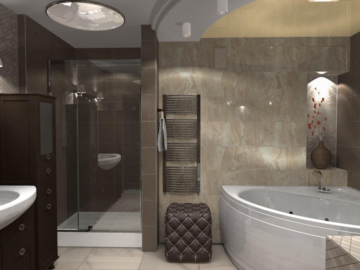 Дизайн квартиры, санузел, Рис 1