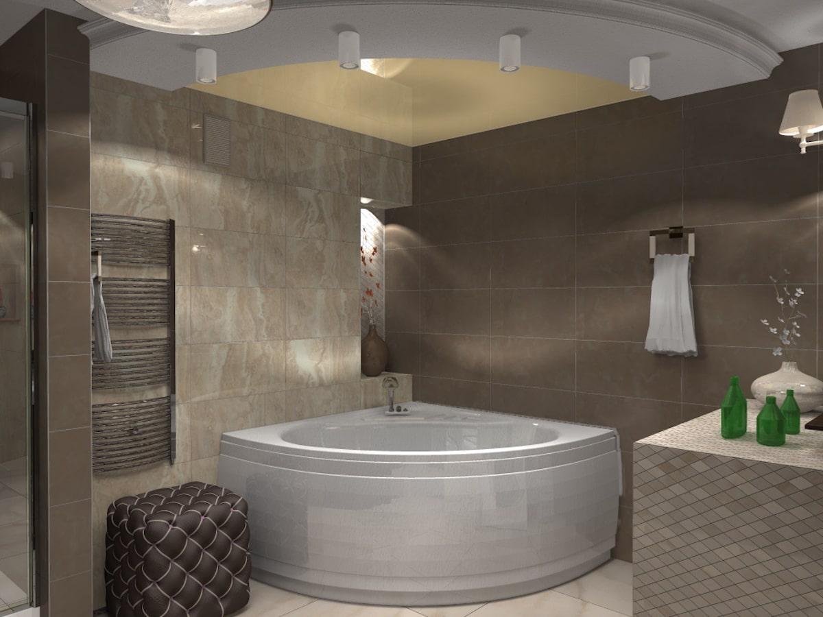 Дизайн квартиры, санузел, Рис 6