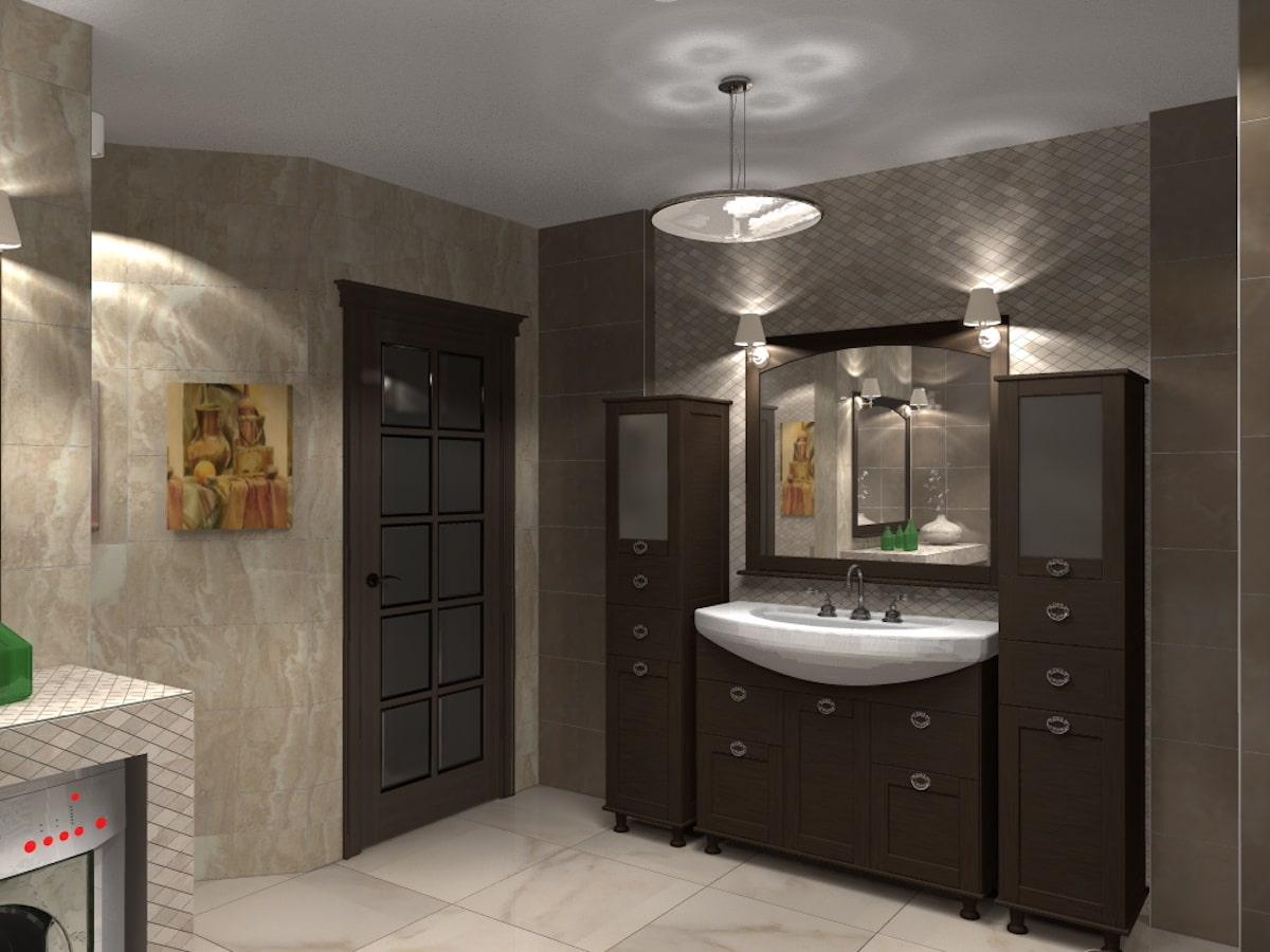 Дизайн квартиры, санузел, Рис 5