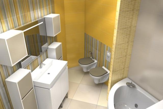 Дизайн квартиры, санузел, Рис 4