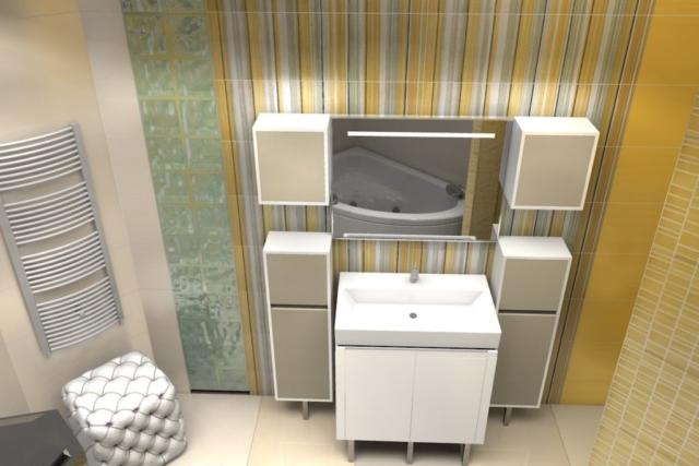 Дизайн квартиры, санузел, Рис 3